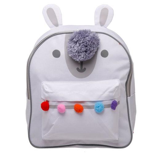 Kids School Rucksack/Backpack - Llamapalooza