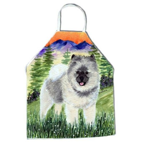 Keeshond Apron - 27 x 31 in.