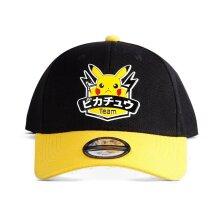 Pokemon Olympics Team Pikachu Badge Adjustable Cap