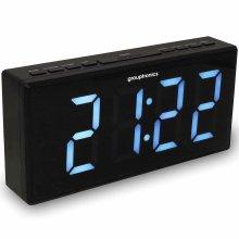 Digital Alarm Clock Radio Extra Large Display Grouptronics GTCR-T1M