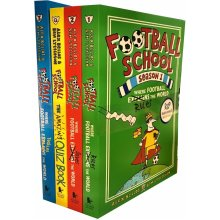 Football School Season Series Collection 4 Books Set Pack