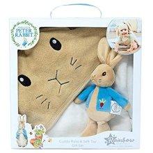 Peter Rabbit PO1600 Cuddle Robe & Soft Toy Set