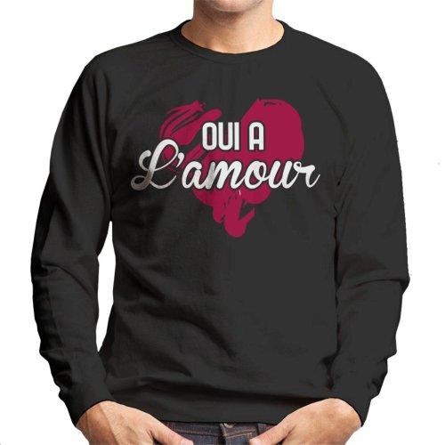 Oui A Lamour Men's Sweatshirt