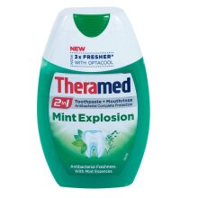 Theramed 2in1 Toothpaste & Mouthrinse Mint Explosion 75ml