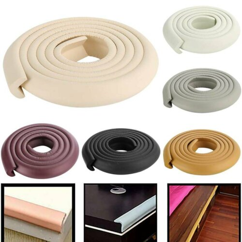 Edge Guard Baby Safety Proof Protector Cushion Foam Table L Shape Stripe