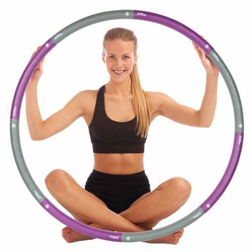 just be... Fitness Exercise Hula Hoop Purple 1.4kg