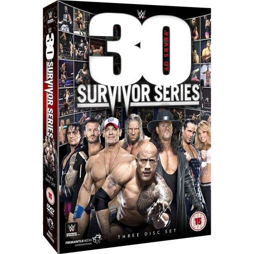 WWE - WWE 30 Years Of Survivor Series DVD [2017]