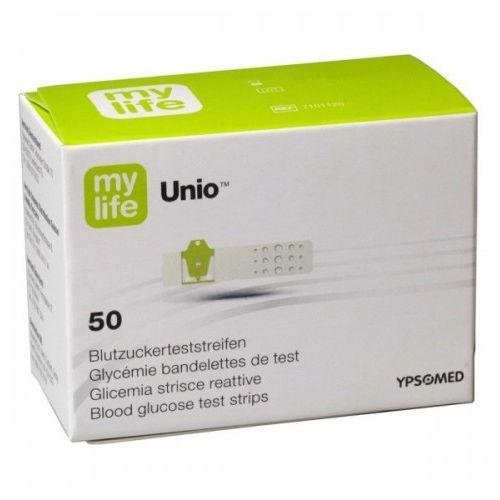 Mylife Unio Blood Glucose Test Strips x 50