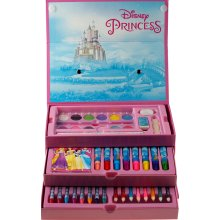 Disney Princess 52 Piece Art And Colouring Chest / Box Gift Set