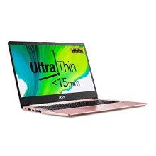 Acer Swift 1 SF114-32 14-inch Laptop - (Intel Pentium N5000, 4GB RAM, 128GB SSD, Full HD Display, Windows 10 in S Mode, Sakura Pink)