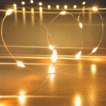 Submersible Waterproof 20 LED String Lights. Vine Lights for Vase, Wedding, Event