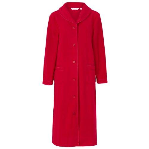 Slenderella HC6321 Women's Red Dressing Gown House Coat Robe