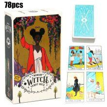78 Cards Modern Witch Tarot Deck Oracle Cards Family Xmas Party Divination Games