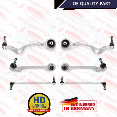 for BMW 3 Series 05-12 Front Suspension Wishbone Control Arms & Drop Links KIT