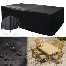 Large Garden Rattan Outdoor Furniture Cover Patio Table Protection 1