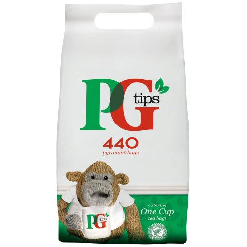 PG Tips Catering One Cup Pyramid Tea Bags - 6x440