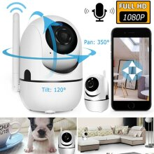 Wireless Full HD 1080P WIFI Security CCTV Camera Indoor Outdoor Home Smart Cam