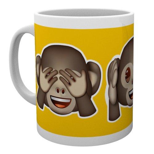 Emoji Monkeys Mug