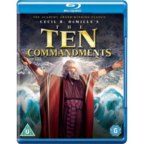 The Ten Commandments Blu-Ray [2013]