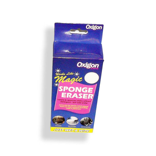 Oxigon Magic Sponge Eraser Kitchen Bathroom Scrubber