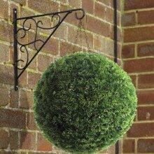 28CM Artificial Topiary Balls Hanging Outdoor Garden