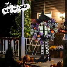 Halloween Hanging Wreath