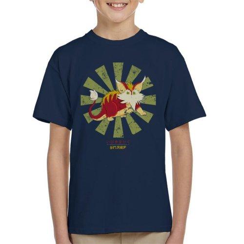 Snarf Retro Japanese Thundercats Kid's T-Shirt