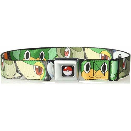 Seatbelt Belt - Pokemon - V.2 Adj 24-38' Mesh New pka-wpk003