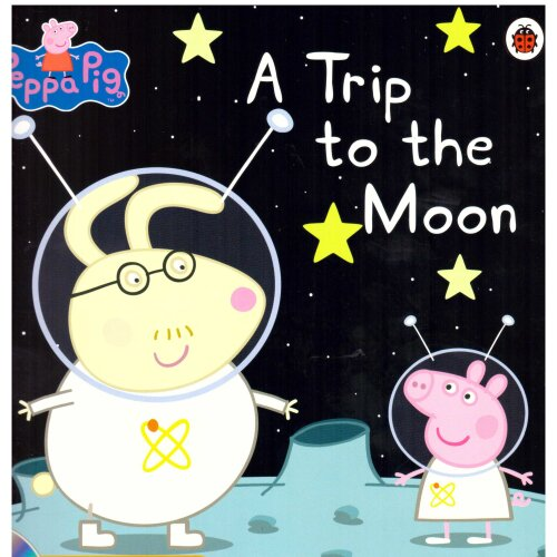 Peppa Pig Story Book: A Trip to the Moon