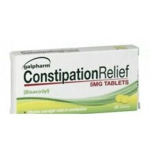 Galpharm Constipation relief tablets 20 x 5= 100 tablets