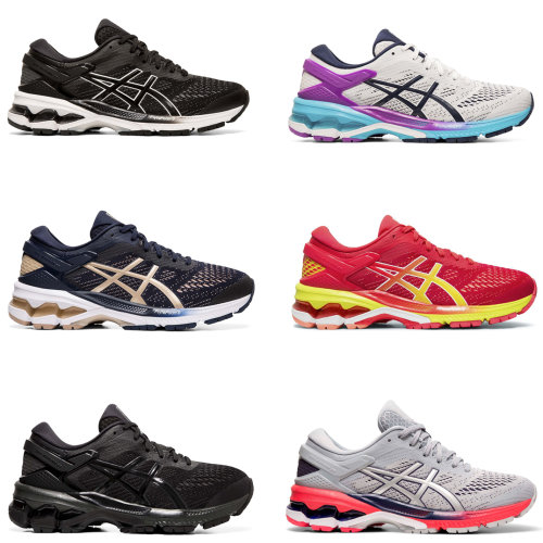 Asics Gel Kayano 26 Womens Running Shoes Trainers Ladies Athleisure Sneakers
