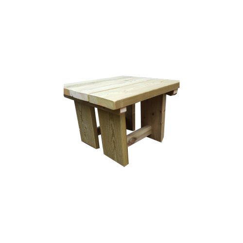 Wooden Garden Rustic Chunk Coffee Table
