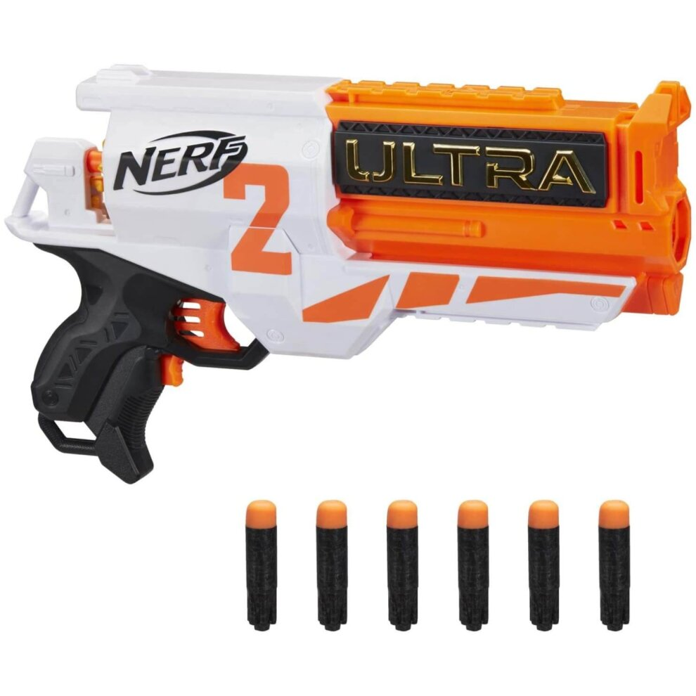 Nerf Ultra Two Motorised Dart Blaster With 6 Cylinder Reload and 6 Darts For Ages 8+