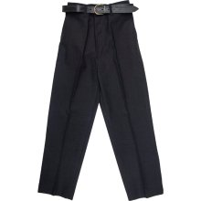 Boys Children School Trousers Stocky Sturdy Wider Fit Half Elasticated Pant Size 3-14 Yrs
