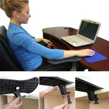 Computer Arm Rest Shoulder Support Mouse Pad Wrist Rest OnChair Desk