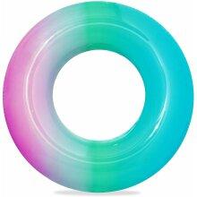 Inflatable Rainbow Swim Ring