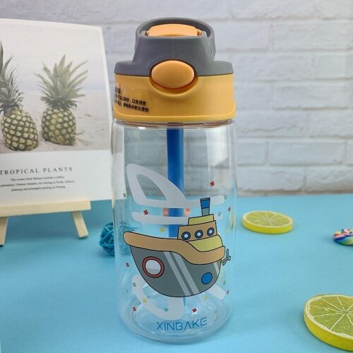 (Ferry) Water Bottle With Cups And Straws