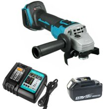 Cordless Angle Grinder 125mm For Makita Brushless+5.0A Battery+Charger