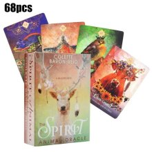 The Spirit Animal Oracle A 68-Card Deck English Tarot Cards Desk Game Family