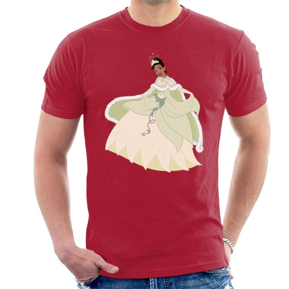 Small Cherry Red Disney Princess Tiana Dress Spin Men S T Shirt On Onbuy