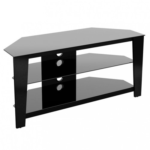 King Black Glass TV Stand - up to 55""