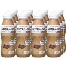 Nutramino Nutra-Go Milkshake Vanilla - 12 x 330 ml.