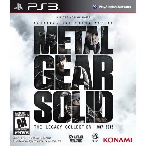 Metal Gear Solid: Legacy Collection (No Artbook)