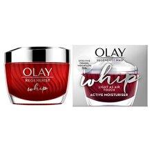 Olay Regenerist Whip Light as Air Anti-Ageing Moisturiser for Firmer Skin with Hyaluronic Acid, 50 ml