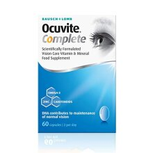 Ocuvite Complete Capsules, 60 Capsules (Bausch + Lomb)