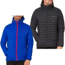 Animal Mens Recast Long sleeve Padded Full Zip Hooded Puffer Jacket Top