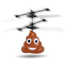 Doodle Hovering Mini Flying RC Drone Toys Emoticon Poo