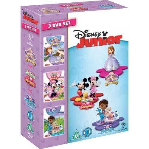 Disney Junior Collection - Doc McStuffins / I Heart Minnie / Sofia The First DVD [2013]