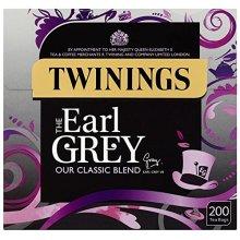 Twinings Earl Grey 200 Tea Bags (Pack of 3, total 600 Tea bags)