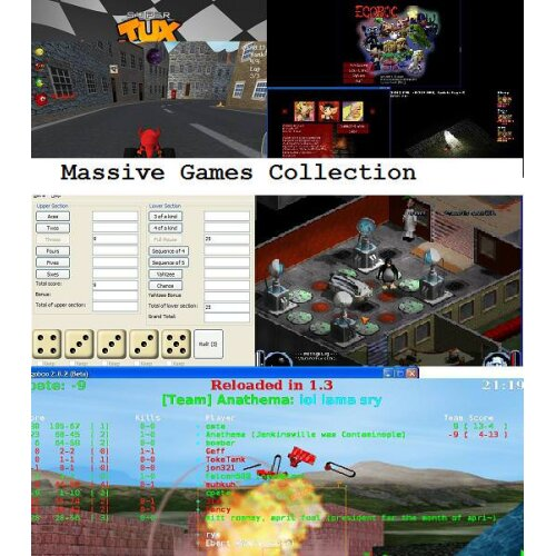 Retro PC Games collection for adults & children alike